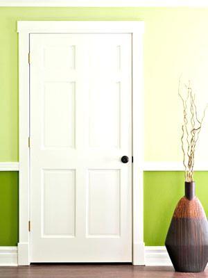 Trim Ideas Mid Century Modern Door