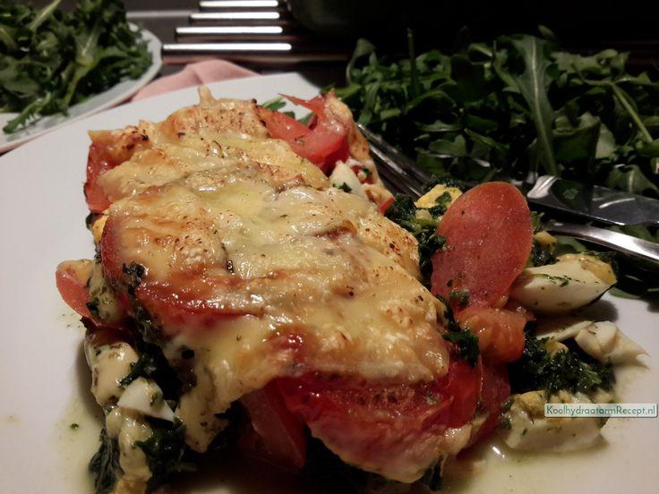 spinazie tomaat ovenschotel