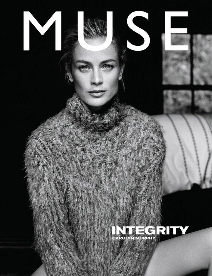 Carolyn Murphy photographed by Dan Martensen for Muse No. 38 FW 2014 #minimode www.mini-mode.com