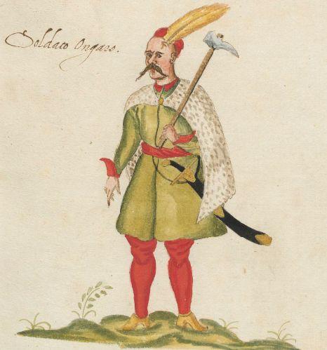 Costumes italiens, grecs et turcs]  Éditeur :  [S.l. s.d]  Date d'édition :  1580  Type :  monographie imprimée  Langue :  Italien  p24