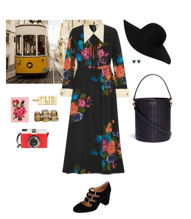 """""""The Globetrotter no.16: Lisbon, Portugal"""" by jessicaoftheoaks ❤ liked on Polyvore featuring Gucci, Corso Como, Monki, Meli Melo, Dolce&Gabbana, Jet Set Candy and Edition"""