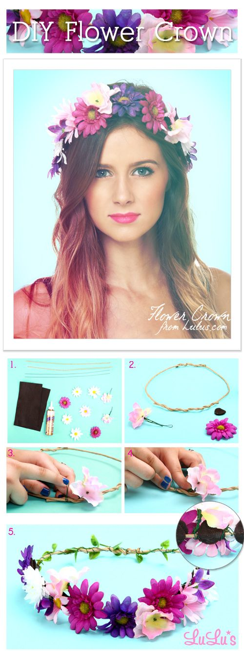 Check out to create your very own flower crown on our blog!