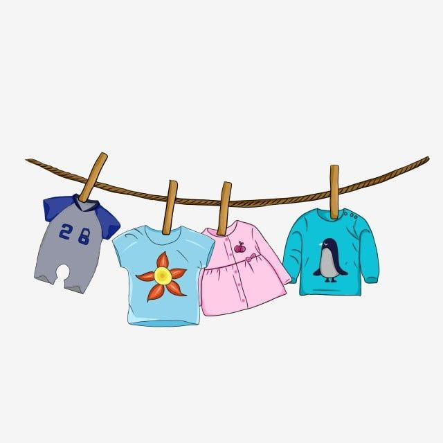 Cute Baby Clothes Hanging On The Rope Baby Shower Clipart Fashion Cute Png Transparent Clipart Image And Psd File For Free Download Cute Baby Clothes Baby Clip Art Baby Shower Clipart