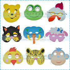 Afbeeldingsresultaat voor maskers maken kinderfeestje