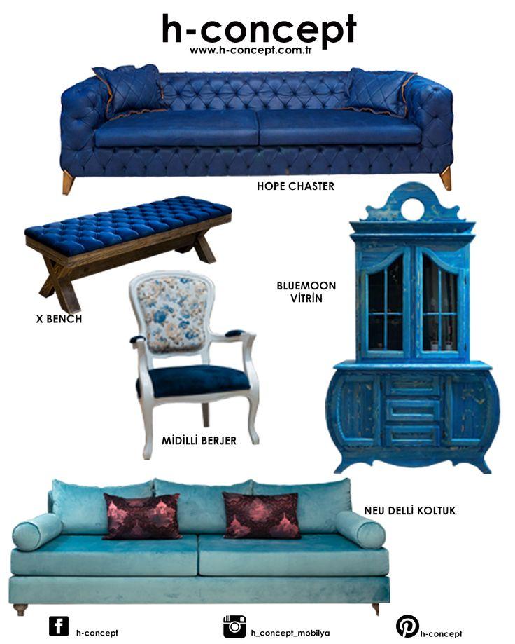 mavi kombin...mobilya..furniture