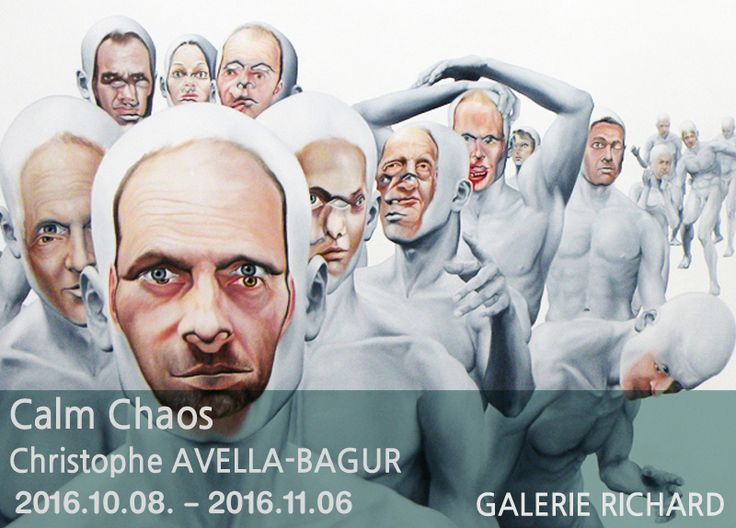 Face FS1812 Pilgrimage to the New World, 2013 78 ¾ x 157 ½ inches, 200 x 420 cm - oil on canvas  Calm Chaos Christophe AVELLA-BAGUR展 2016.10.08 -2016.11.06 #관람시간 01:00pm-07:00pm(Tue-Sat) GALERIE RICHARD