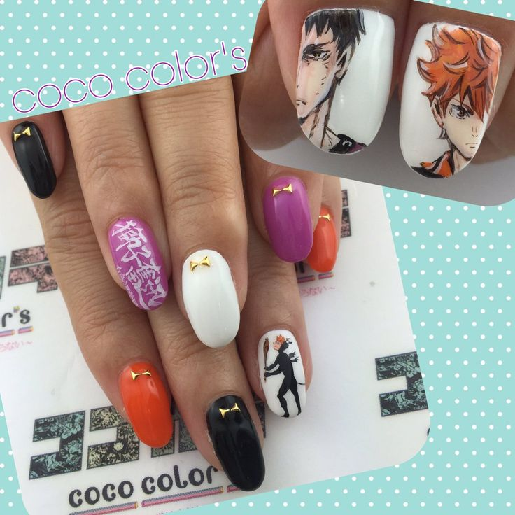 33 Best NARUTO NAILS Images On Pinterest