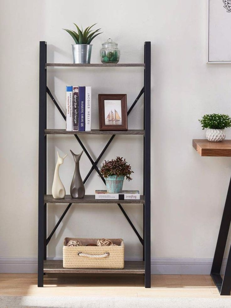 Extended Use for Storage: This Rustic ladder shelf ...