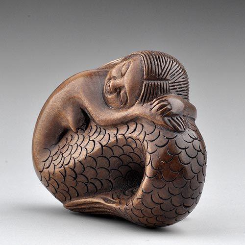 Best carvings netsuke images on pinterest tree