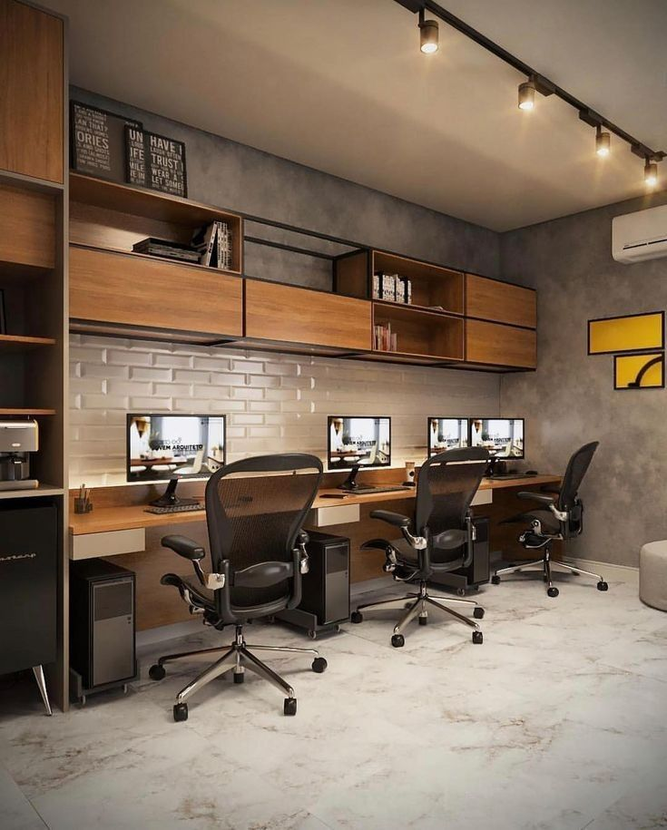 Best Modern Office Interior Design Desk Chair Setup Ideas