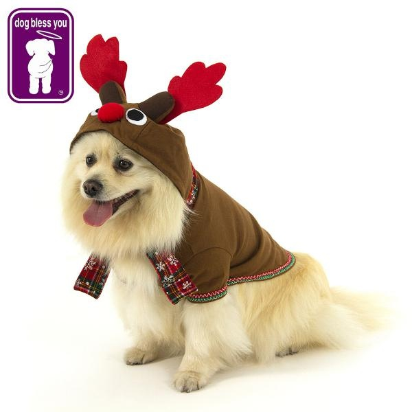 Main product photo of Reindeer Dog Costume: Size 4