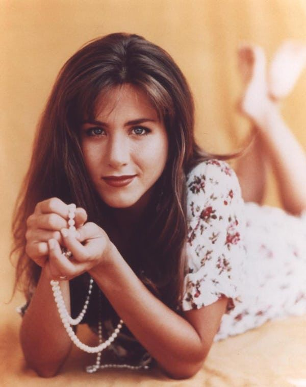 Young Jennifer Aniston in Flow... is listed (or ranked) 3 on the list 20 Pictures of Young Jennifer Aniston