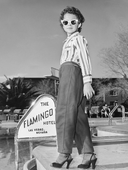 Brenda-Lee. The Flamingo Hotel, Las Vegas, Nevada.