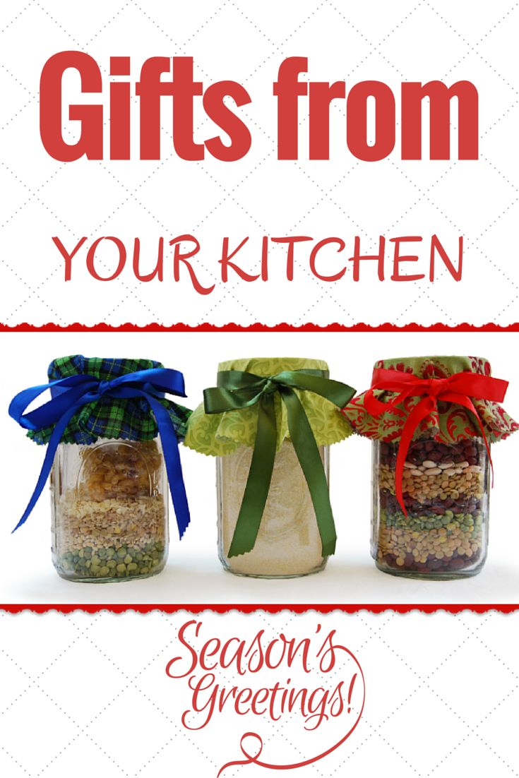 These recipes for food mixes in jars are a healthy homemade holiday gift from the heart