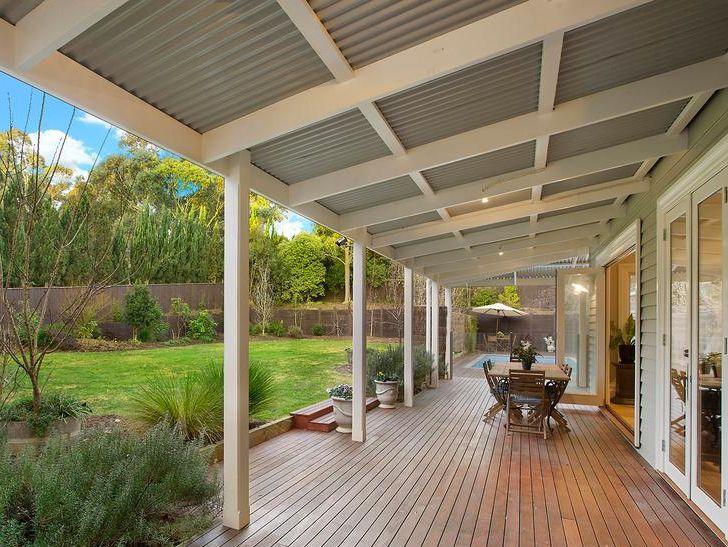 Outdoor area ideas with verandah designs House with