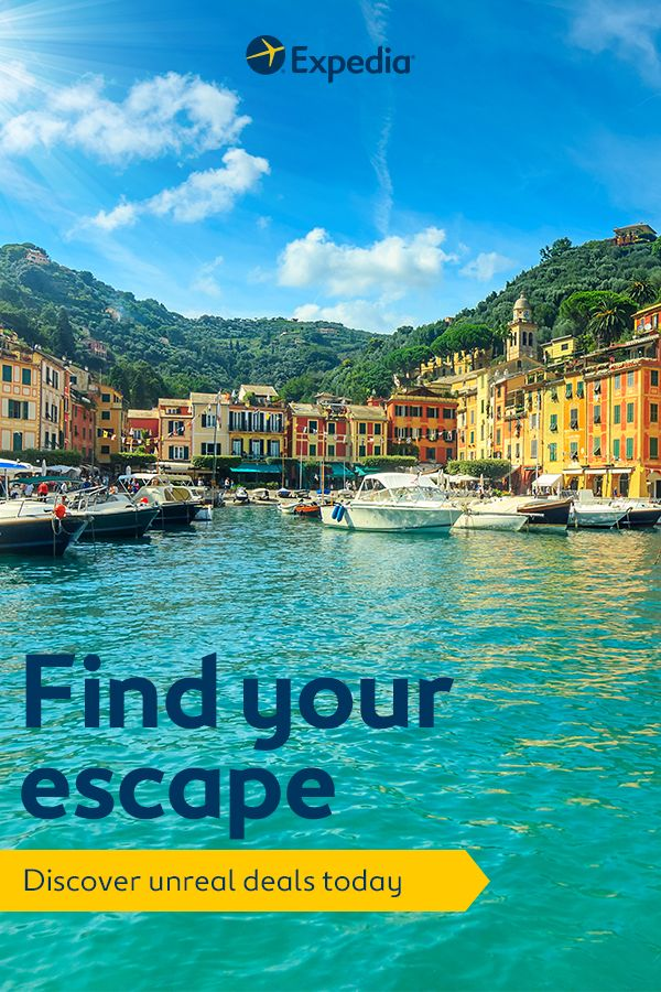 Been dreaming of a view like this? Switch off and unwind with an unforgettable getaway at a truly unmissable price. Expedia is home to thousands of deals on flights, hotels and packages. So whatever your happy place looks like, head out and find it.