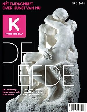 KB #2/2014 #art #kunst #contemporaryart #liefde #love #Valentine #cover #kunstbeeld #Rodin
