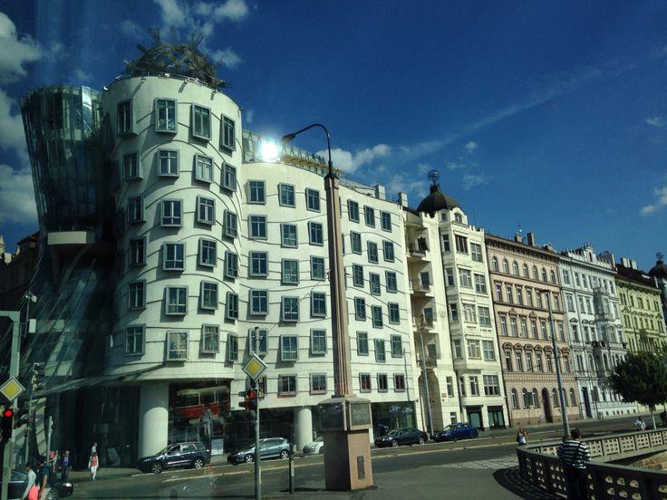 Dancing House in Prague