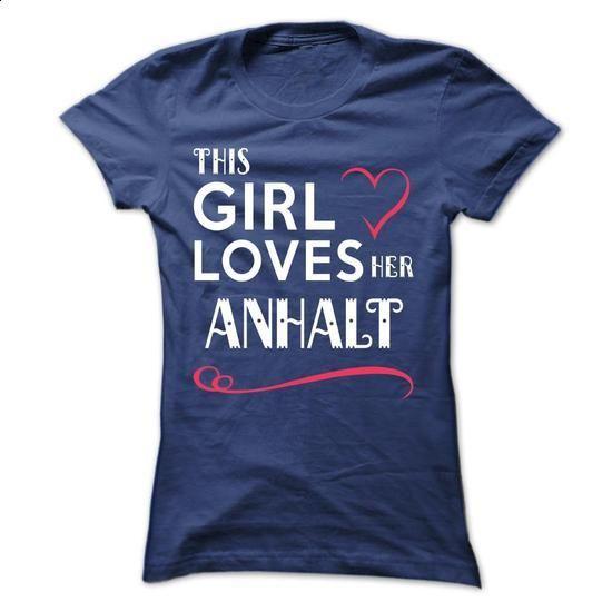 This girl loves her ANHALT -