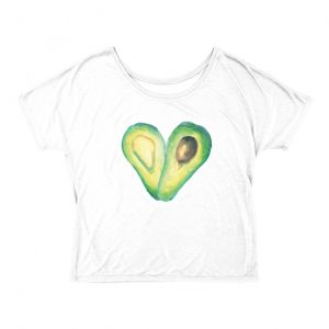 By far THE most popular shop item on Nutrition Stripped- the famous Avocado Love t-shirt. I love seeing how you're all styling this from super casual, wearing it on TV shows (@hemsleyhemsley), to dressing it up!