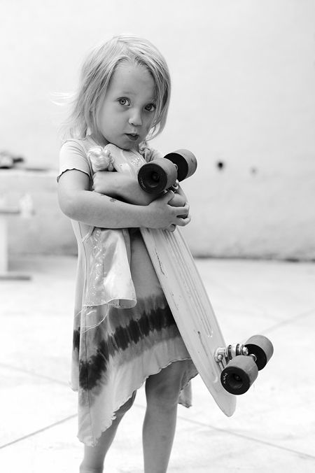 This is a photograph by Arto Saari. It is an image of his daughter getting her first skateboard. I find this inspiring because it brings me back to my childhood, when I received my first board. It inspires me to reminisce on the past every now and then and also to stay youthful and never lose who I am – I still feel like I'm a young carefree girl whenever I see this photo.
