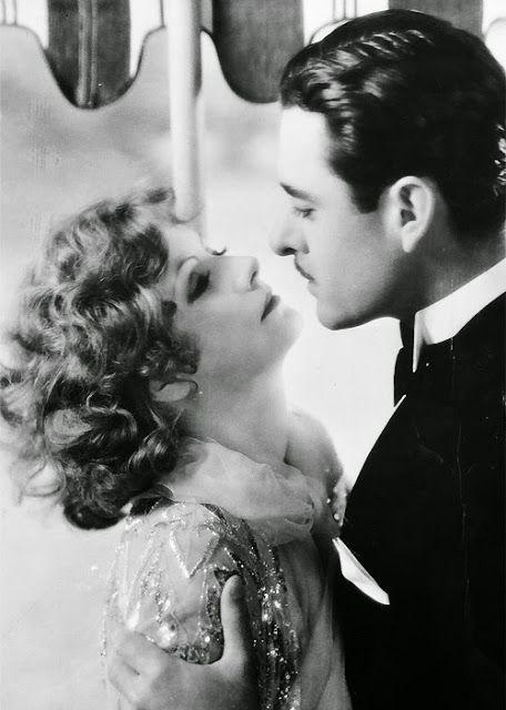 VINTAGE BLOG: John Gilbert and Greta Garbo 1927