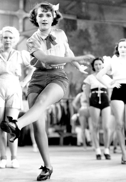 Ruby Keeler photographed for Dames (1934)