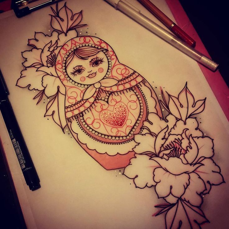 doll sophieadamson tattoo                                                                                                                                                                                 More