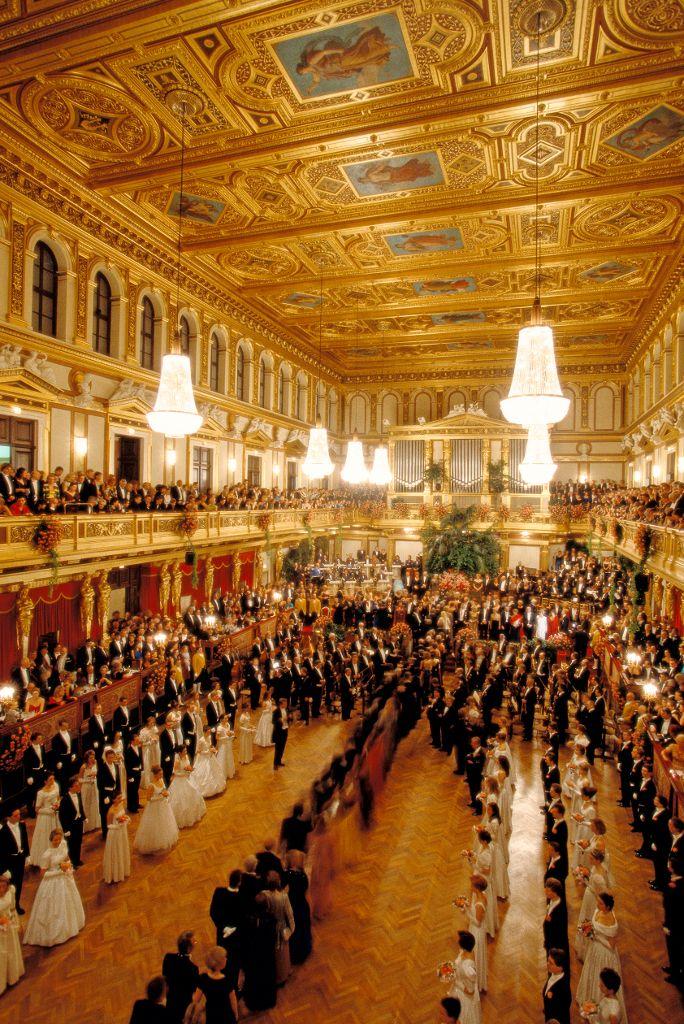 Vienna Philharmonic Ball: at the Vienna Musikverein