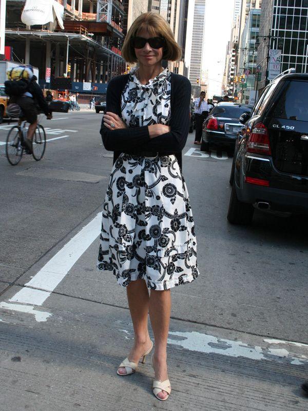 「世界で最もパワフルな女性100人」ファッション業界人トップ アナ・ウィンターのかっこ良い着こなし術 | by.S