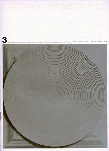 Ilio Negri – L'acciaio inossidabile, N. 3, 1968