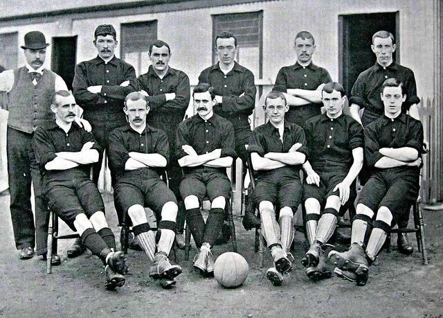 Woolwich Arsenal Team.