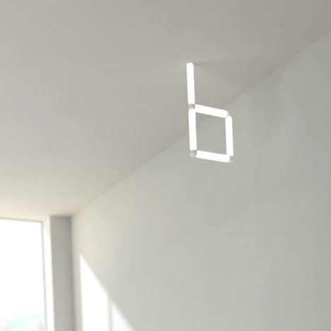 modular lighting system that sticks together with magnets bright special lighting honor dlm