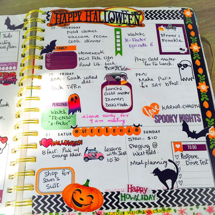 👻Halloween Planner Layout- FREE PRINTABLE — As a planner addict I love decorating my weekly layout using lots of washis and stickers. But at times it can get very expensive. So I have used a free printable this Halloween and also made my own Halloween stickers.   You can download the printable and sticker sheet for free in my blog by clicking on the button below.   Have a spooky Halloween this year.  (😈 Evil laugh)  xox Som