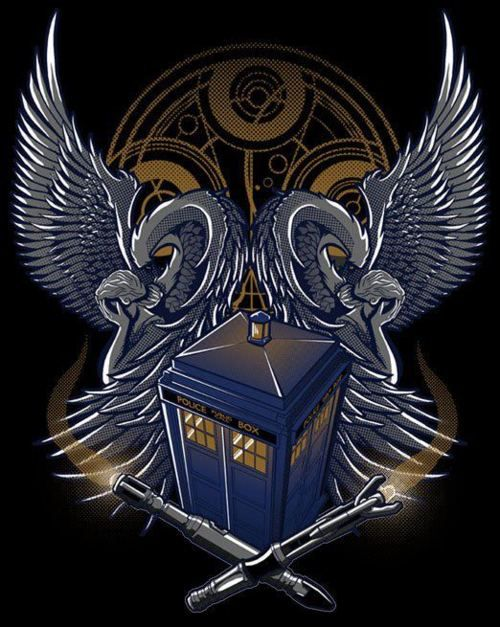 Awesome Doctor Who tattoo!