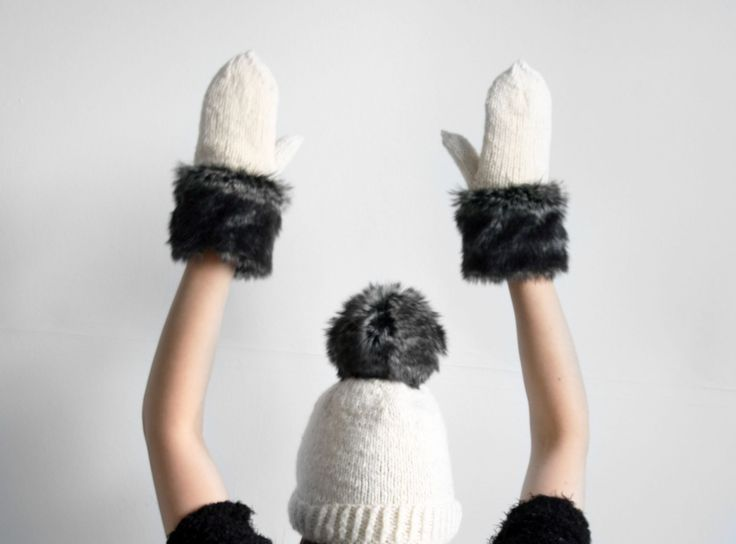 Handmade item Materials: wool, cotton jersey, fake fur Made to order Ships worldwide from Riga, Latvia