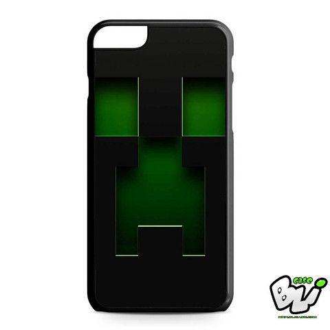 Black Creeper Face Minecraft iPhone 6 Plus | iPhone 6S Plus Case