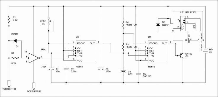 Pic18f microcontroller block diagram of a simple