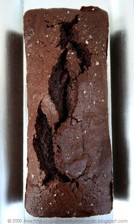 // Torta di cioccolato al fior di sale