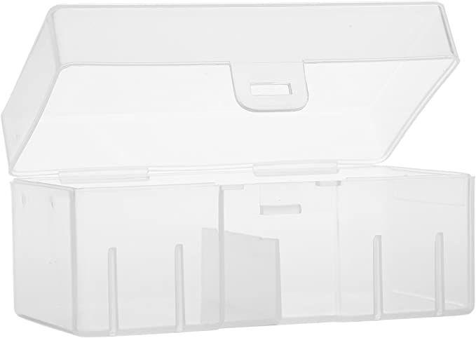 Amazon Com Whizzotech 9 Volt Battery Storage Case 9v Battery Holder Organizer Box Container Bl04 Office Products Battery Storage Organiser Box Storage