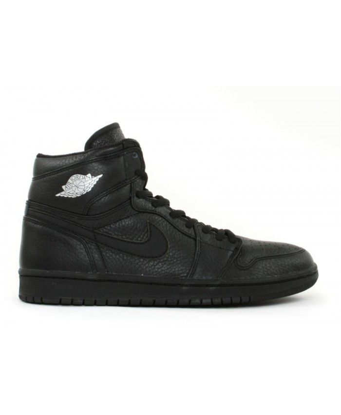 Air Jordan 1 (2001 Addition) Black Black Metallic Silver 136060 002