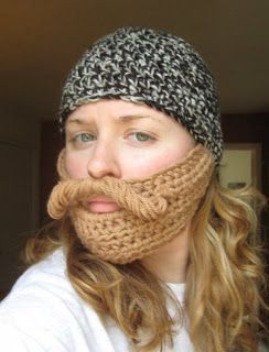 Hooks and Hornbooks: A pattern for a beard hat!
