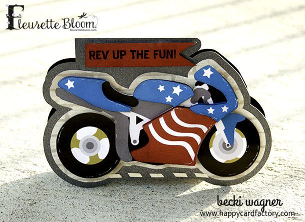The 25 best card factory ideas on pinterest card case make a motorcycle birthday card happy card factory negle Images