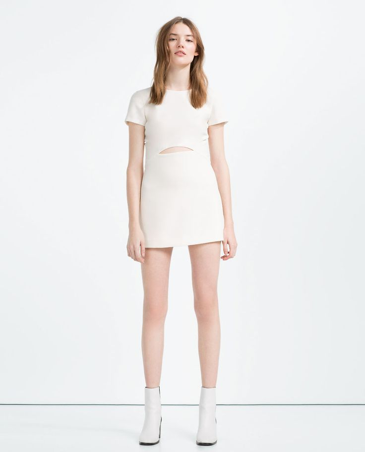 JUMPSUIT DRESS WITH CUT-OUT-View All-DRESSES-WOMAN   ZARA United States