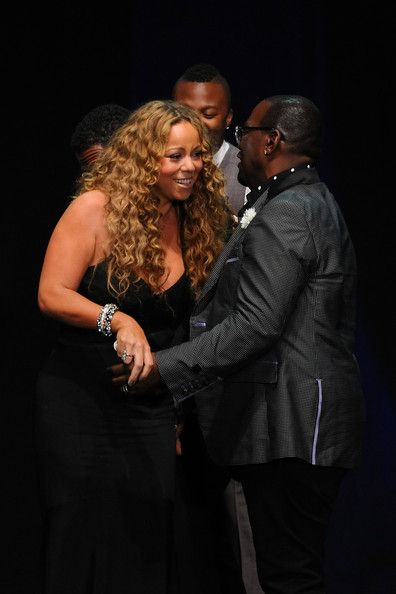 Mariah Carey Photos - Mariah Carey (L) and Randy Jackson attend the 12th Annual BMI Urban Awards at Saban Theatre on September 7, 2012 in Beverly Hills, California. - 12th Annual BMI Urban Awards - Show