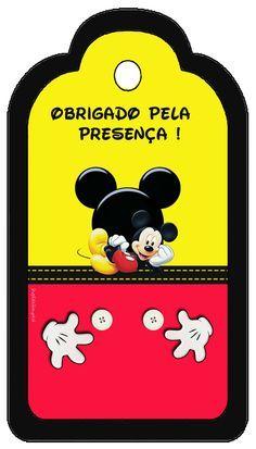 Convites Digitais Simples: Kit Aniversário de Personalizados Tema Mickey Mouse                                                                                                                                                      Mais