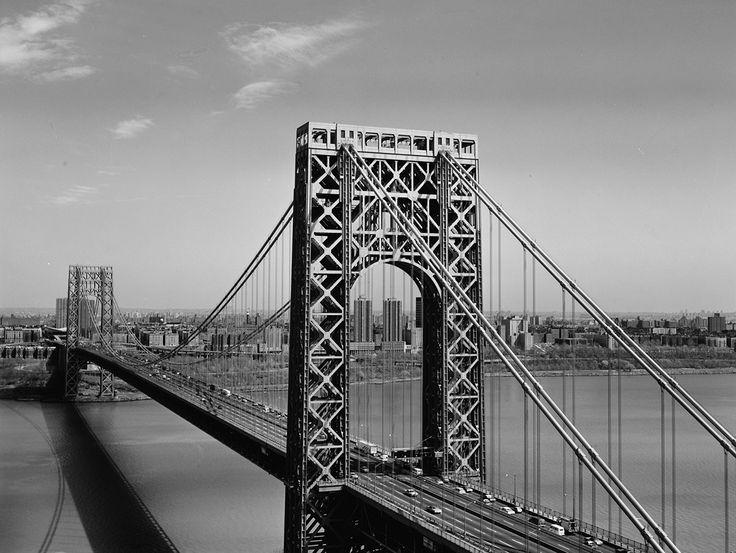 george-washington New York 39 ponts parmi les plus magnifiques du monde que vous rêverez de traverser au moins une fois dans votre vie