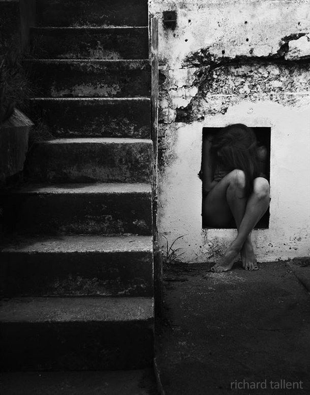 art, sad, photography, sad girl, black and white