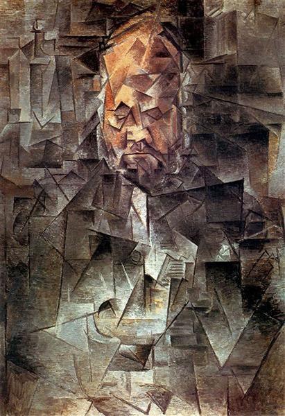 ←  → Retrato De Ambroise Vollard Pablo Picasso Título original: Retrato de Ambroise Vollard Fecha: 1910 Estilo: Cubismo Analítico Periodo: periodo cubista