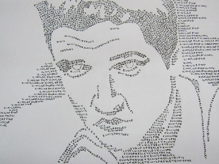 Elvis typography